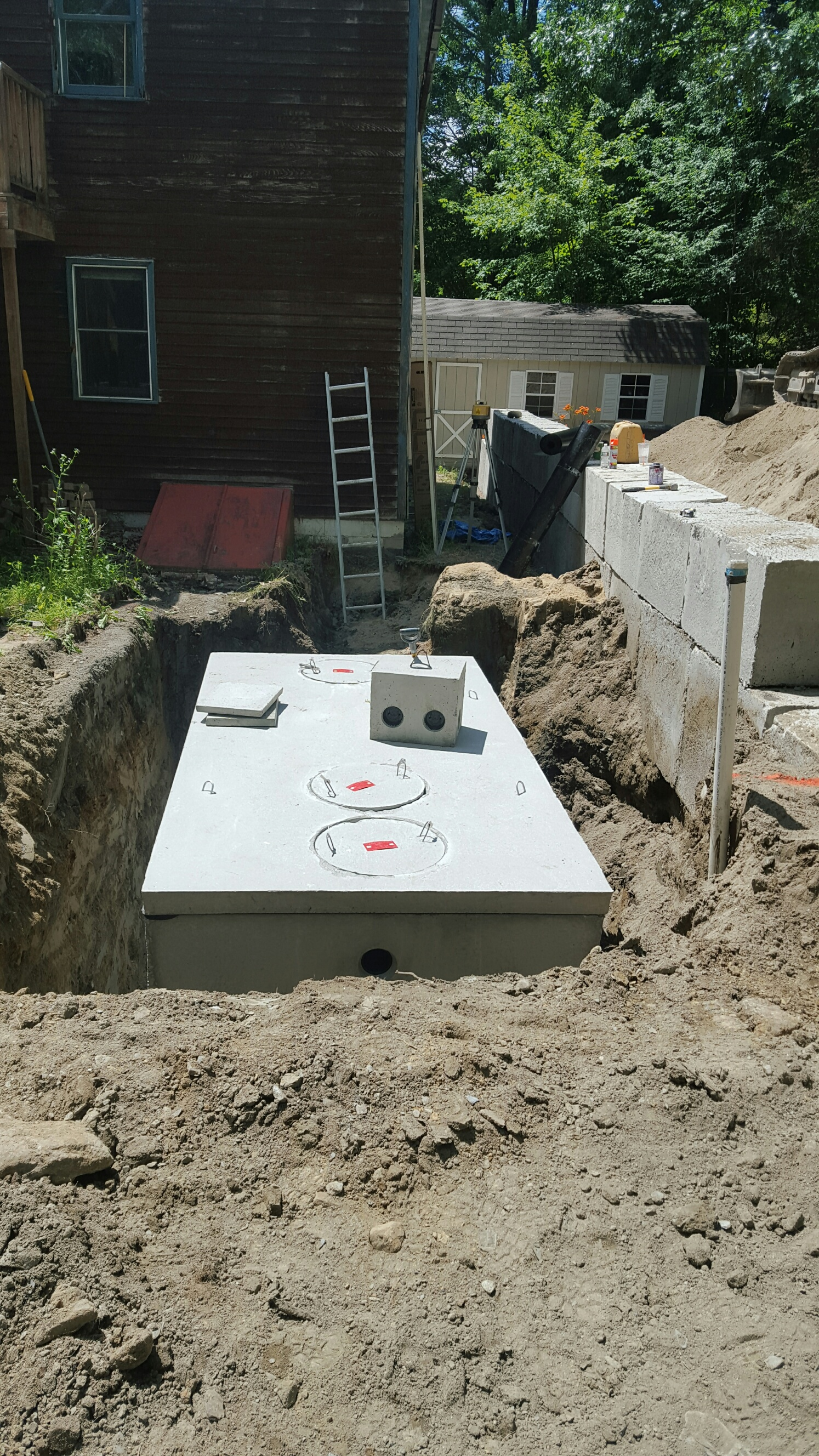 Presby Septic System Installation – Lancaster - Curtis