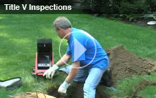 Educational Videos About Your Septic System - Title 5 Inspections